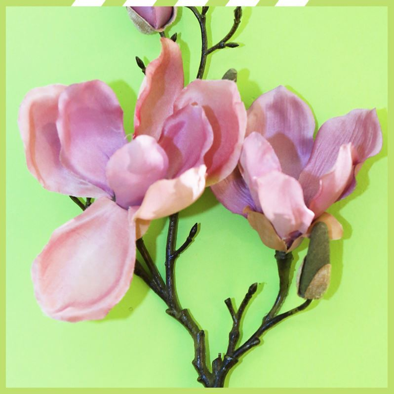 Hot sale artificial magnolia wholesale wedding centerpieces