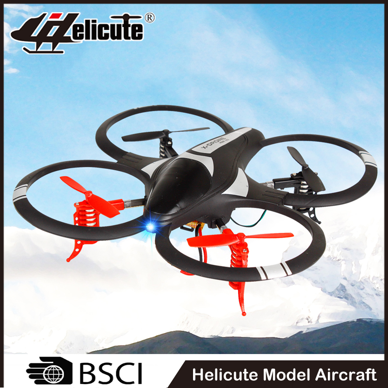 Super 4 channel rc flying aircraft toy with 6 axis gyro