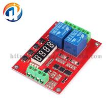 24V 2 Channel Multi Function Time Delay / Self Lock / Cycle / Relay Module PLC Control