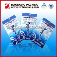 custom plastic flexile packaging transparent plastic bags for cookies