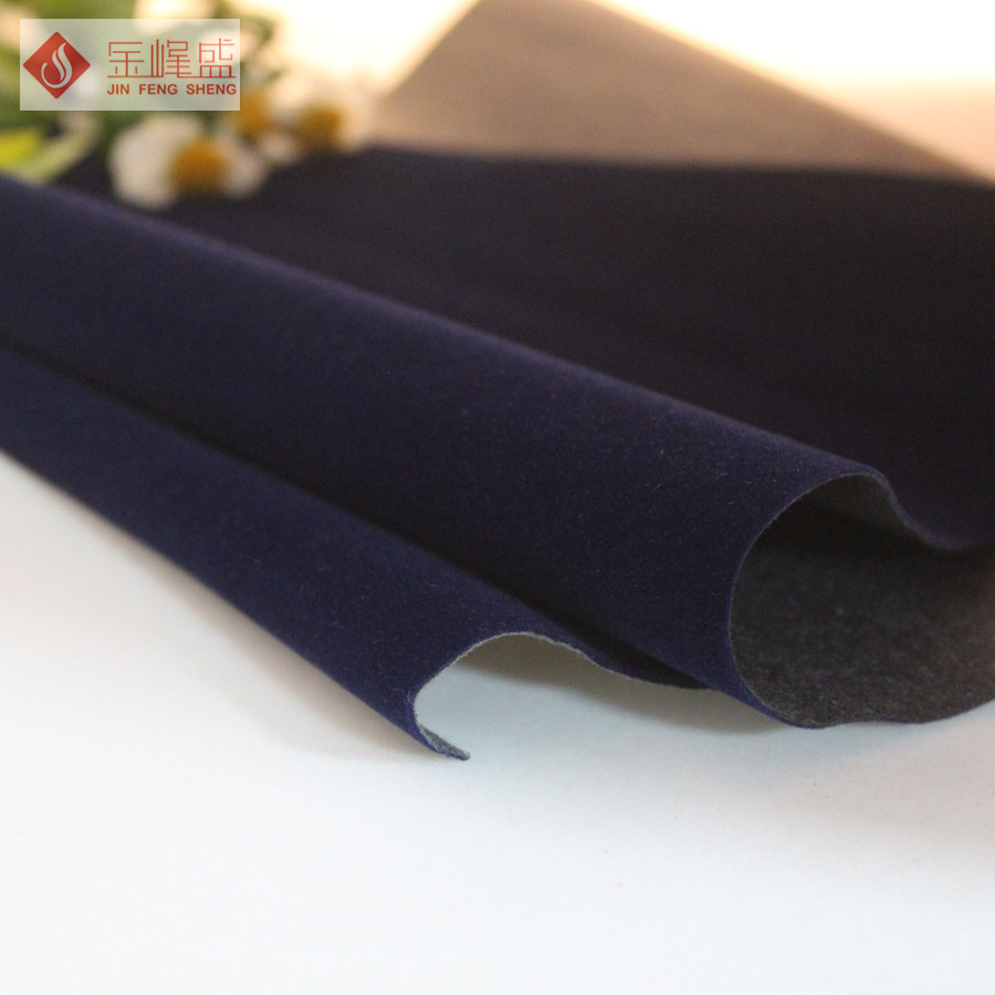 Long Velvet fabric self-adhesive flock paper/ spunlace nonwoven fabric For Box Lining and Decoration