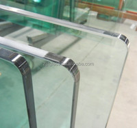 White laminated glass