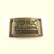 custom brand name buckle plate metal belt buckle