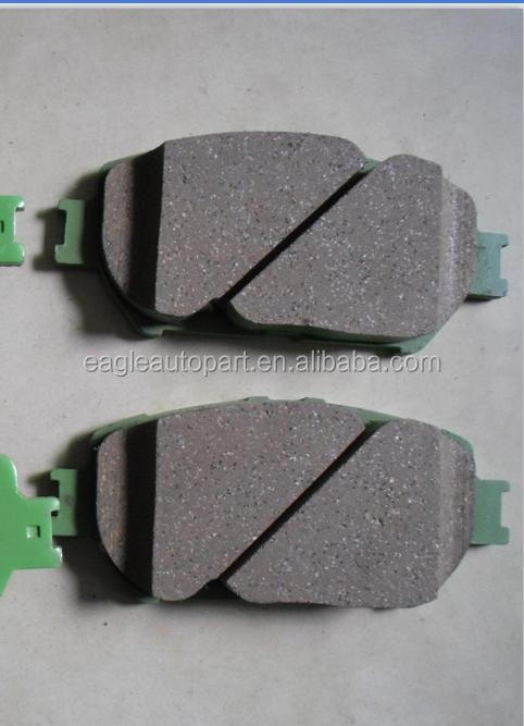brake pad 04465-33320 for toyota Camry 2.4 MCV30 ACV30