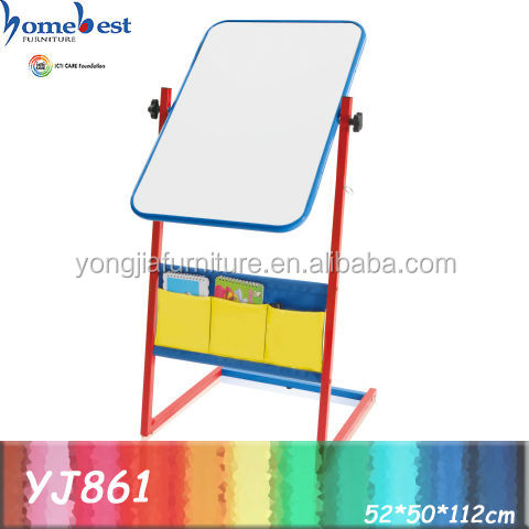 Kids Easel Drawing Board With Stand For Children