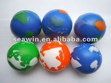 PU Stress Earth /Earth Stress Ball/Earth Stress Reliever