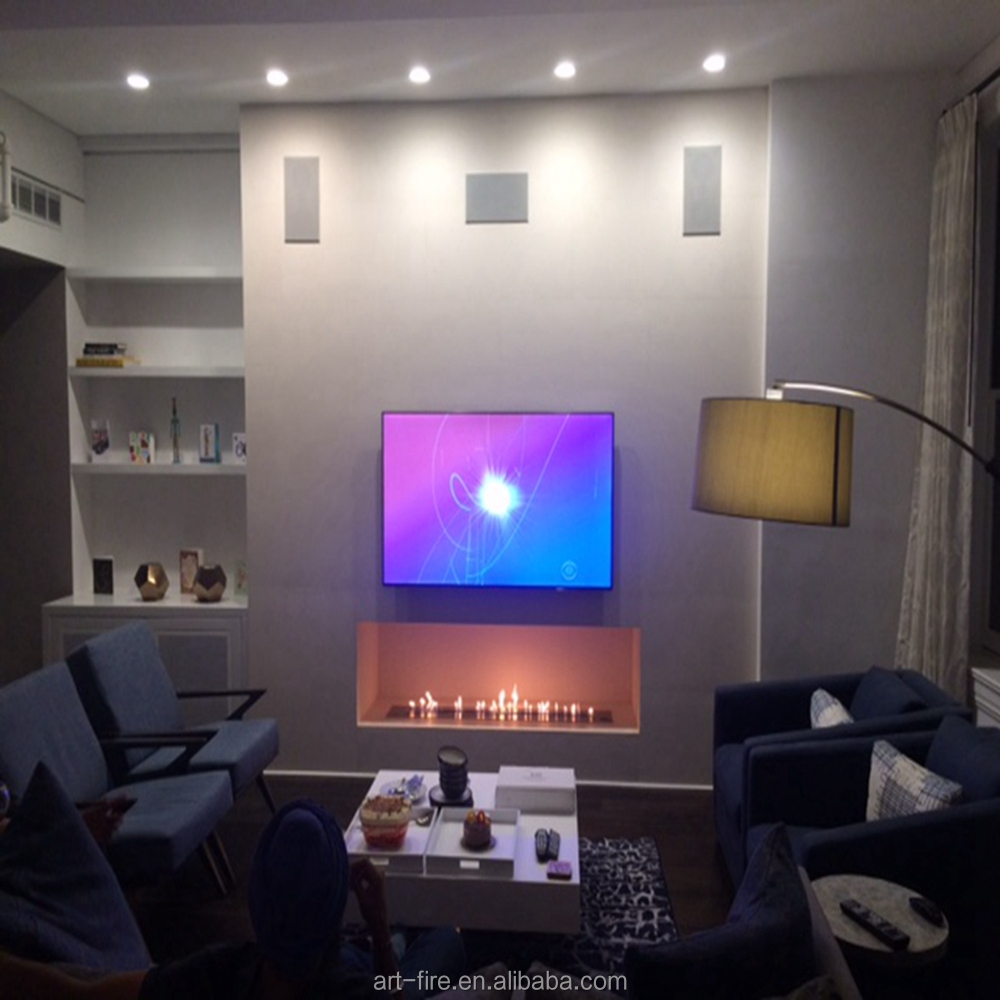 Hot sale Ventless Intelligent Bio Ethanol Burner with Remote