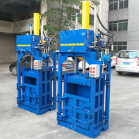 hydraulic vertical waste paper baler packing film machine hydraulic paper packing machine price