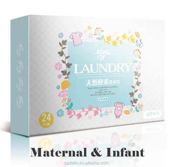 New arrival baby use Laundry cleaning Tablets Paper Detergent sheet