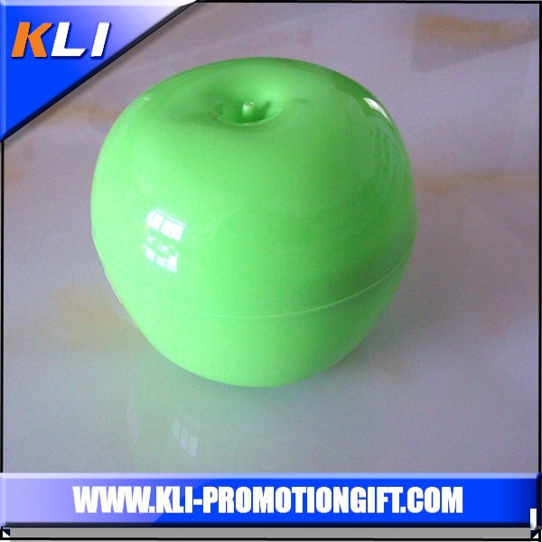 wholesale plastic fruit apple shaped containers