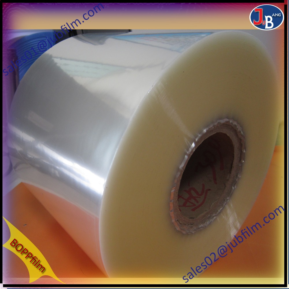 moisture proof transparent adhesive bopp film price offer