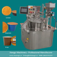 K cup Filling Sealing Machine K-cup Manufacturers Rotary Filling Sealing Machine for K cups