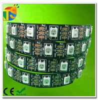IP20 IP60 addressable flexible led strip light rgb ic ws2812b 60leds/m