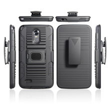 Full-body Rugged Holster Robot Combo Case Heavy Duty Cover Shockproof for LG stylus 3