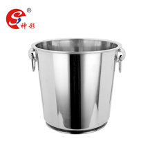 Stainless steel champagne beer wine ice bucket