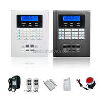 wireless/wired simcom module gsm home alarm system with Auto dialer
