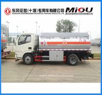 Dongfeng Fuel Tanker Oil Tanker DFA1070SJ35D6 Euro 4 Weight 7300kg for sale