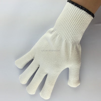 cheap HPPE cut and chemical resistant gloves/cut resistant gloves/meat cutting gloves