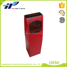 Different Color Plastic wine bottle carrier packaging box