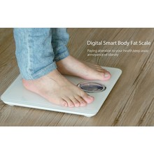 Unique bone density smart digital smart body fat scale with pure color silk printings