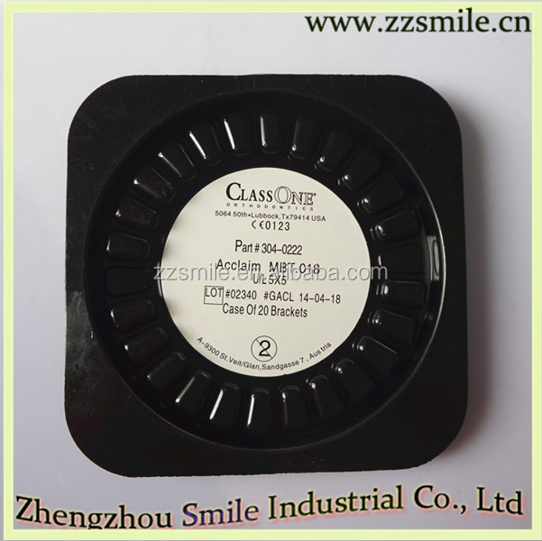 Dental supplies class one bracket dental ceramic brackets