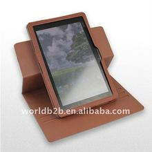 360 Degree Rotating leather case for Asus EE Pad TF101