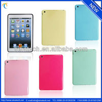 Classical Fancy cute cartoon animal shape silicone case for ipad mini