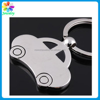 Keyring Metal Logo Engraved Car Shaped Keychains cheap car logo keychain metal snowboard keychain