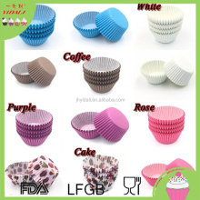 Paper Cake Cup Mold & Chocolate tray, Baking Cup Muffin Kitchen Cupcake Cases Many Colors Cake cup New design