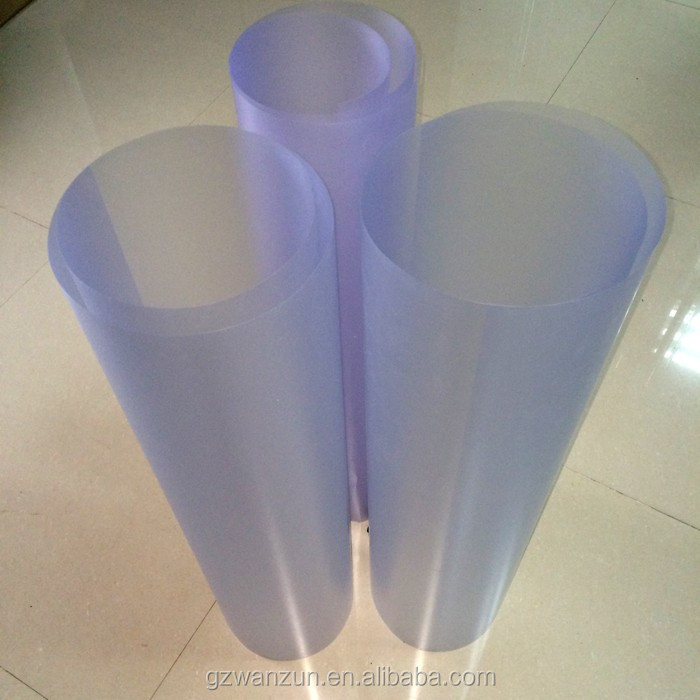 0.2mm Plastic Virgin Blue Transparent PVC Films