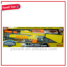Nice scale plastic model guns for kids