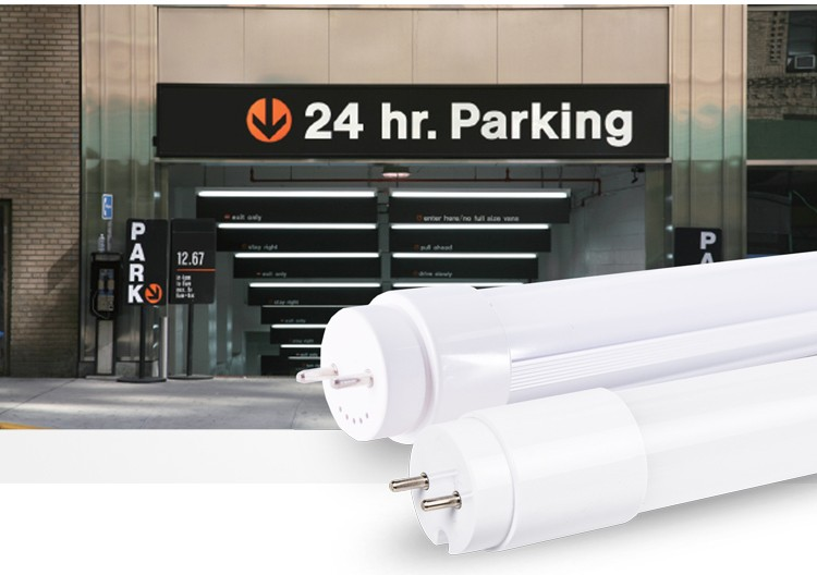 Rechargeable 20W T8 Fluorescent LED Tube