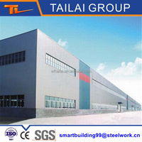 Made in China Prefab Structural Steel Frame Warehouse