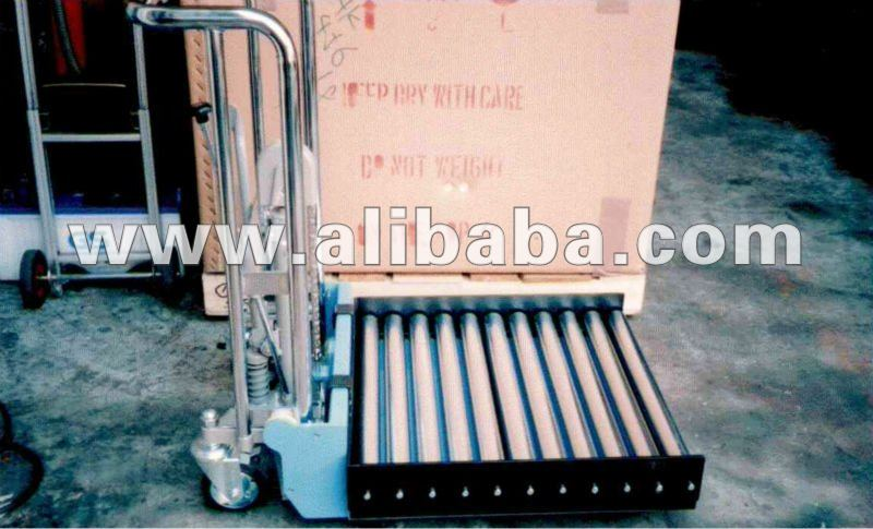 Hydrualic Lift Table with rollers