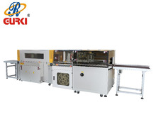 Auto High Speed Side Sealing and Shrinking Machine auto shrink wrapper heat shrinking wrapping machine