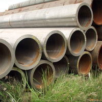API 5L 5CT PSL1/PSL2 SSAW Spiral Welded Steel Line Pipes for Water, Oil and Gas drilling and transportation