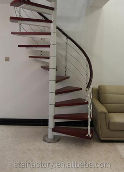 Fashion Used Spiral Staircase,central Post Spiral Staircase,TS 152