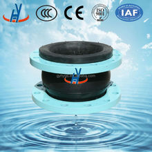 high quality rubber expansion joint with flanges