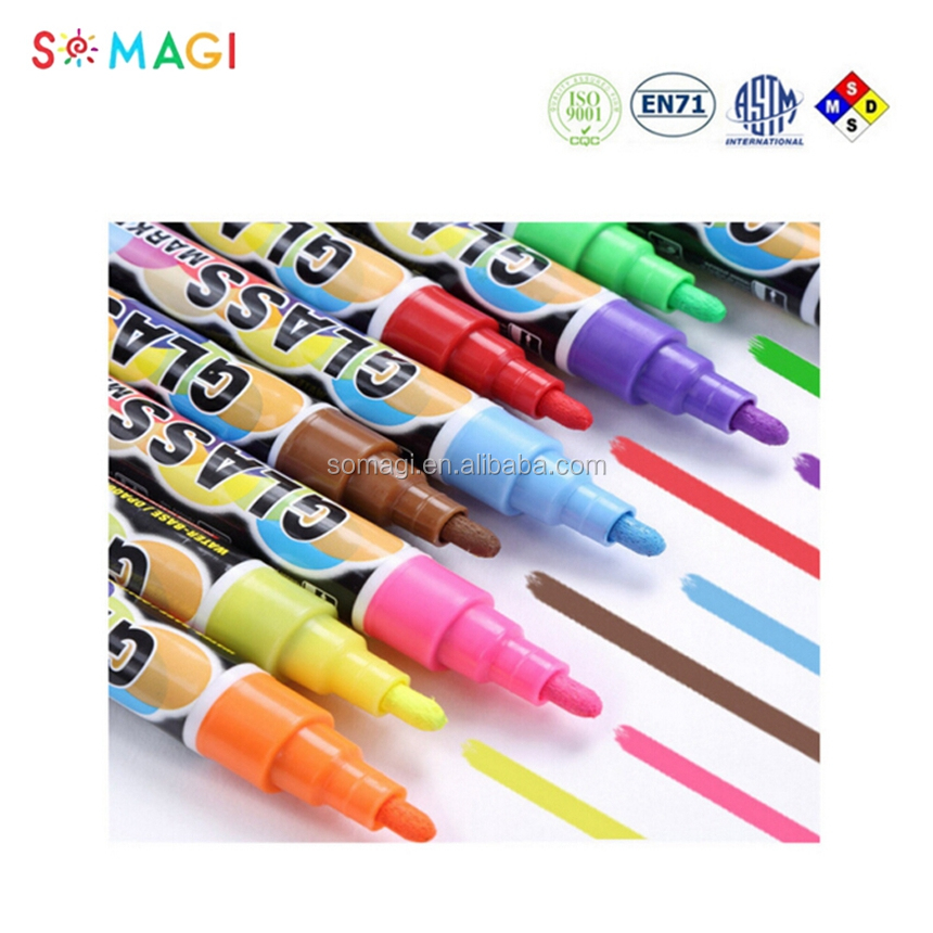 Amazon Hot Product chalk marker reversable tip with Free Private Label