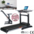 GS-650D-A New Design Indoor Front Desk Design Motorized Treadmill Desk