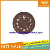 OEM custom plastic wall clock mold manufacturer