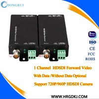 Hot-swap function video data audio interface SDI Video Fiber Converter digital sdi transceiver