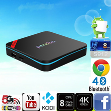 Pendoo X9 Pro S912 3G 32G tx3 pro android app download With Good Quality Android 6.0 TV Box