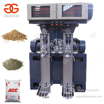 Professional Design 50kg Bags Cement Filler Packing Plant Sand Packaging Cement Bagging Machine