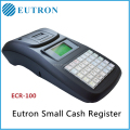 Portable electronic online cash register with internal battery