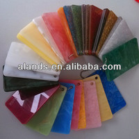 Marble finished acrylic plastic sheet