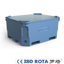 450L rotomolding cooler for frozen fishing mobile Plastic fish tank fish bin