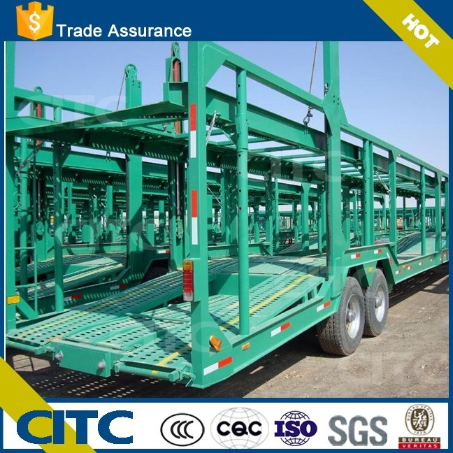 2015 new type hot sale best price 2 <strong>axles</strong> /3 axis <strong>car</strong> carrier semi trailer trucks