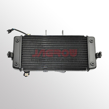 Motorcycle aluminum water radiator with fan fit for SUZUKI GW250 2012