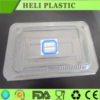 clear PP plastic packaging case/cartons